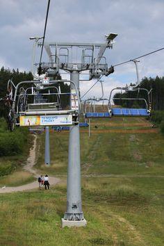 Tsjechië roadtrip kabelbaan rodelbahn