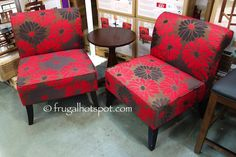Ave Six Larissa 3 Piece Chair amp Accent Table Set Costco
