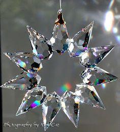 swarovsky crystal sun catcher