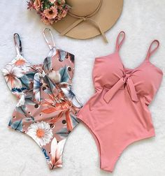 Credits to the owner of this photo Summer Bathing Suits, Girls Bathing Suits, Summer Suits, Edgy Outfits, Cute Outfits, Fashion Outfits, Casual Shorts Outfit, Modest Bikini, Sporty Bikini
