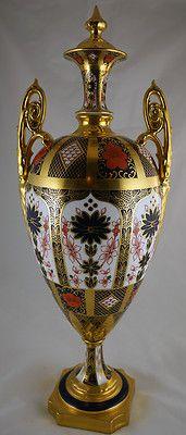 Royal Crown Derby Old Imari 1128 Vase   eBay