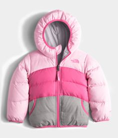 Toddler Girls' Reversible Moondoggy Jacket