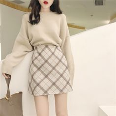 A real style for women who want to be class, Long live Korean fashion … – Best outfit ideas Korean Girl Fashion, Korean Fashion Trends, Korean Street Fashion, Ulzzang Fashion, Japanese Fashion, Cute Fashion, Asian Fashion, Teen Fashion, Fashion Outfits