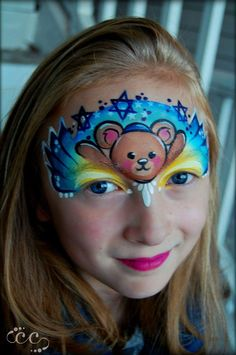 Christmas Face Painting, Face Jewels, Kids Makeup, Face Painting Designs, Face Paintings, Halloween Disfraces, Animal Faces, Face Art, Body Art