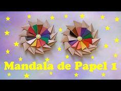 Pensarte e Artesanato com Sandra Gobert: MANDALAS DE PAPEL 1, 2 E 3