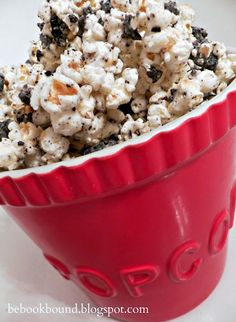 Be Book Bound: Little House on the Prairie: Cookies and Cream Popcorn