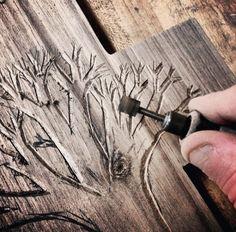 Handmade custom wooden Crosses - Hand Carved