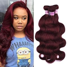 Hair Extensions & Wigs Hard-Working Chloe Pre-colored 99j Body Wave Brazilian Hair Weave Bundles 100% Human Hair 3pcs Red Wine Burgundy Non-remy Hair Extensions Easy And Simple To Handle