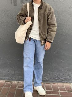 Stylish Mens Outfits, Cute Casual Outfits, Indie Outfits, Retro Outfits, Hommes Grunge, Style Masculin, Sneaker Outfits, Baggy Clothes, Vetement Fashion
