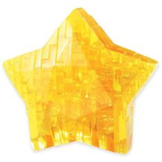 Star 38-Piece Original 3D Crystal 38-Piece Puzzle - This colorful 38-Piece Star 3D Crystal Puzzle is the perfect brainteaser. Once you solve this moderately difficult puzzle, you will create a bright 3D crystal star. Brighten up any room with its display or take it apart and build it again.