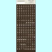 Crush - Petite Type Mini Alphabet
