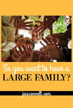 So you want to have a large family? Or you're on the fence and thinking about having more kids? Maybe your husband wants more, and you're not sure? Or vice-versa? Before we got married,...