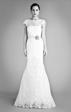 Alice Temperley Launches The Beatrice 2012 Collection...The Long Jean dress - a classic design in the Temperley bridal wear collections