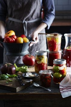 Capture the flavor of summer fruit and vegetables by making and canning preserves, jam, sauce and more to enjoy all year long. Our Guide to… Food Photography Styling, Food Styling, Travel Photography, Home Canning, Canning Jars, Canning 101, Canning Recipes, Bar Recipes, Coffee Recipes