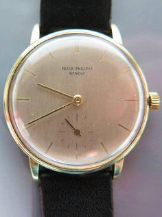 Patek Philippe Calatrava 18k Gold Gents Wrist Watch to be auctioned 15/6/16