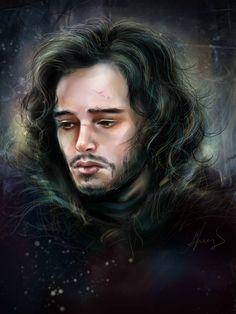 Jon Snow by manulys.deviantart.com on @DeviantArt
