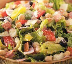 Romaine Chickpea Tuna Chopped Salad (South Beach Phase 1 Recipe) | Diet Plan 101