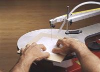 We asked Rick Hutcheson, our scrollsawing expert for the past decade, to pass along some tips for those new to the craft.