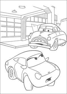 Desenhos para colorir Carros 60