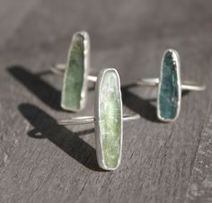 Annika Kaplan Jewelry - new kyanite rings