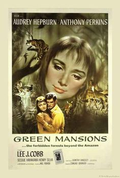 GREEN MANSIONS French movie poster