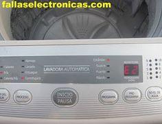 codigo de error E2 en lavadora daewoo