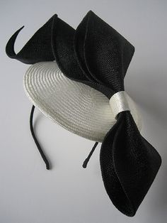 Sarah Cant couture millinery-ripple disk