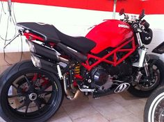 Ducati monster. And this IS a monster!!! Whoa!!