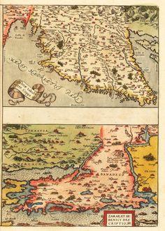 Istria, Zadar & Sibenic  Ortelius, Abraham