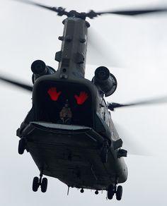 """eyestothe-skies: """"  CH-47 Chinook """" @blackhawk79"""