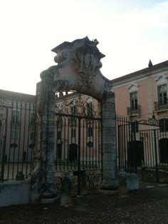 Palácio Correio-Mor - Loures  - Portugal Portugal, Lion Sculpture, Statue, Spaces, Art, Art Background, Kunst, Gcse Art, Sculpture