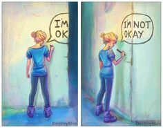 The Thing about Depression Is It Hides Behind Corners - Neatorama