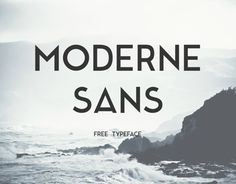 Moderne Sans is a clean sans-serif typeface free for you to download, created by Marius Kempken.Inspiered from the great 1920s fontfamilys. This Typeface based on upper case letters, but I creat lower case letters, numbers and some alternative letters t…