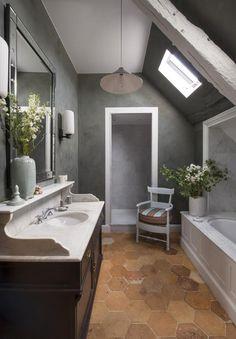 Великолепный дизайн старинного французского дома - Colors.life