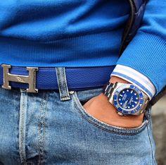 Toques de azul!!!