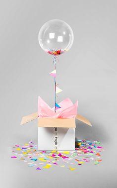 Party Bunting Confetti Bonbon   Bonbon Balloons