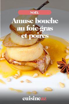Cette recette d'amuse bouche au foie gras et poires est facile et rapide à cuisiner pour Noël. #recette#cuisine#aperitif#apero #amusebouche #poire #foiegras #noel#fete#findannee #fetesdefindannee French Toast, Breakfast, Salads, Cooking Recipes, Cooking Food, Meal, Toast, Morning Coffee
