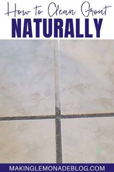 Cleaning Fun, Grout Cleaning, Cleaning Recipes, House Cleaning Tips, Diy Cleaning Products, Cleaning Solutions, Using Vinegar To Clean, Toilet Bowl Stains, Organization Hacks