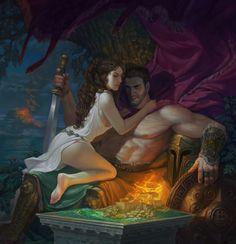 Afrodité és Árész randevúja | Ládonyi János