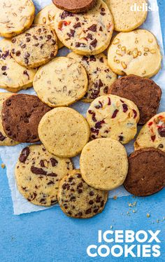 Icebox Cookies To Satisfy That Sweet Tooth At A Moment's NoticeDelish Icebox Cookie Recipe, Icebox Cookies, Parsnip Puree, Baked Asparagus, Cheese Ball Recipes, Easy Cookie Recipes, Balls Recipe, Toasted Coconut, Stick Of Butter