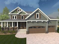 Craftsman Style Home #Cardinalcresthomes