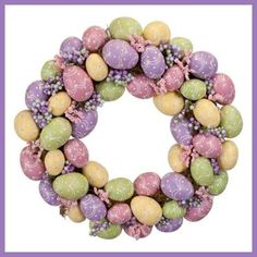 Easter Egg Wreath :)