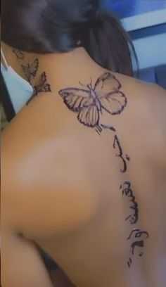 Cute Hand Tattoos, Baby Tattoos, Pretty Tattoos, Girl Neck Tattoos, Girly Tattoos, Dope Tattoos For Women, Black Girls With Tattoos, Spine Tattoos For Women, Henna