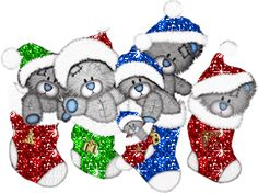 animated gifs of christmas- Teddy bears in socks Tatty Teddy, Teddy Photos, Teddy Bear Pictures, Christmas Music, Merry Christmas, Christmas Sheets, Christmas Pictures, Bear Gif, Bear Graphic