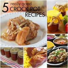 5 Really Good Crock Pot Recipes