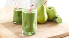 Blend up this green smoothie if you're new to the world of green smoothies or you're looking for another one to add to your arsenal.