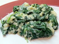 Low Carb Layla: Laughing Cow Creamed Spinach #lowcarb