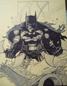 Batman by Sean Forney Comic Art