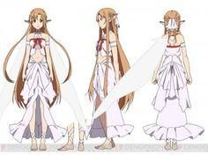 Sword Art Online Fairy Dance Arc Character Design Published