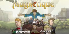 Magnetique, il primo fumetto in realtà virtuale made in Italy  #follower #daynews - http://www.keyforweb.it/magnetique-primo-fumetto-realta-virtuale-made-italy/